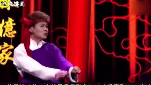 孟鹤堂《欢乐喜剧人》舞台为岳云鹏助演, 却因大褂的穿法成为焦点