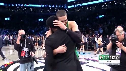 队友情深!盘点NBA前队友再见温情瞬间