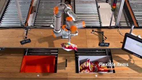 600件/小时,与人类高度协作的拆零拣选机器人