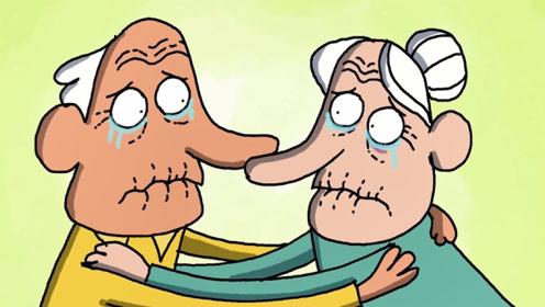 """老两口相爱一辈子难舍难分,""""死神""""带走老奶奶,竟是为了爱情!"""