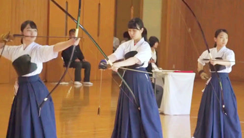 日本射弓箭这速度,真是没谁了,在战场上早成靶子了