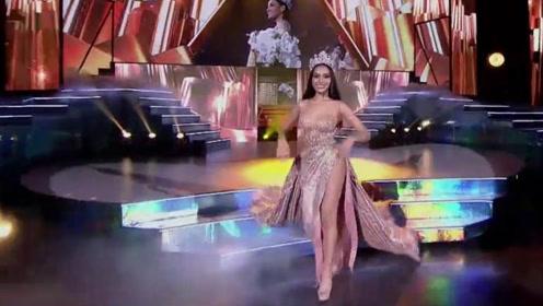 泰国女神绝美出场,宛如璀璨的星河,大放异彩!