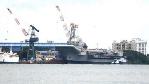 印国产航母新进展,首次点火成功,俄罗斯人:服役时间取决于我们