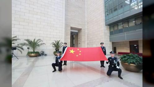 北京高院举行2019年度全市法院司法警察警衔授衔仪式