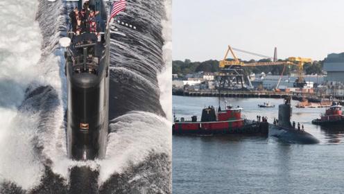 9艘弗吉尼亚级核潜艇!通用动力接下美军史上最大造船合同