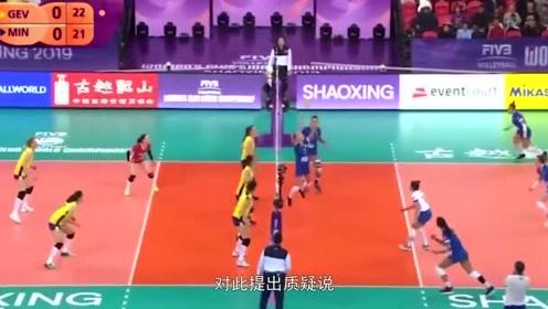 决胜时刻朱婷3接一传0扣球!李颖质疑女排:为什么不让朱婷进攻?