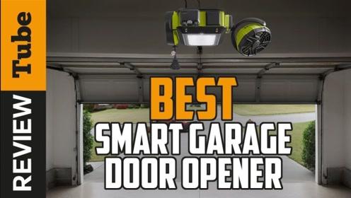超级智能的车库门,三两下功夫就能搞定,技术宅的发明
