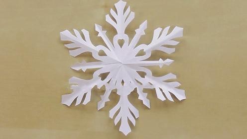 剪纸DIY-洁白又漂亮的雪花