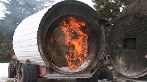 俄罗斯村民如何过冬?一个村庄用一台供暖设备,取暖费才300块!