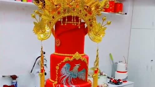 中国传统网红蛋糕,还真是第一次见,没法说的惊艳