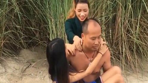 有这么当爹的?说去缅甸给儿子找媳妇,自己却在那风流快活!