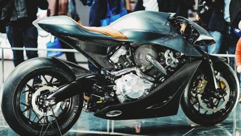 阿斯顿马丁首款摩托车,全球限量100辆,84万骑回家