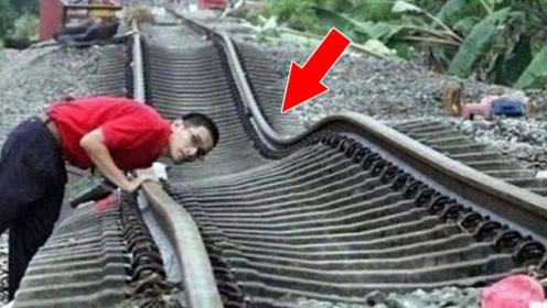 """世界上""""最奇葩""""铁轨,火车路过像在""""跳舞"""",比过山车刺激"""