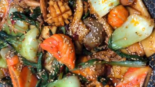 老婆想吃的麻辣香锅在家就能吃,再也不去外面吃了!