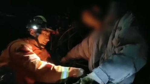 """大学生看雪被困3600米山顶:""""感受到死亡气息"""" 四川甘孜消防紧急救援"""