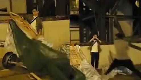 香港市民旺角清理路障遇袭 出院后首发声:破坏了现在 哪里来的将来