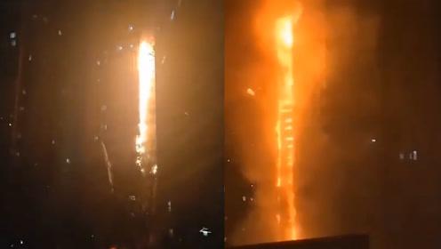 沈阳高层居民楼起火原因为插排起火 嫌疑人已被刑拘
