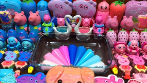 爱心彩泥+天鹅饰品+裱花袋彩泥+亮彩饰品,颜色超漂亮好玩解压