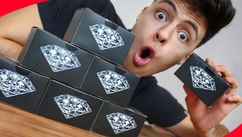 """老外买了六个""""钻石盒子"""",里面真的会有钻石吗?看完我都想买了"""
