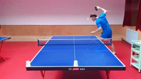 这是什么神仙乒乓球发球技术?网友:还要不要对手接球?