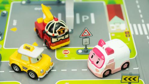 珀利场景玩具 凯普的布鲁姆斯小镇能量站