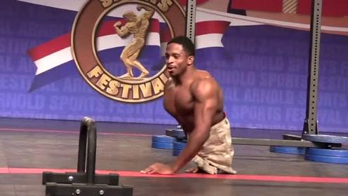 这位美国退伍兵的展示,震惊了全场,体育是一种让人奋发向上的力量