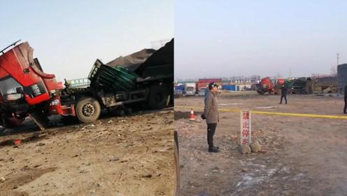 工人焊接油罐车时发生爆炸致2死1伤 目击者:房子都崩都塌了
