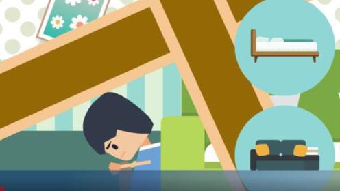 四川绵阳突发发生4.6级地震,遇房屋坍塌该如何避险?
