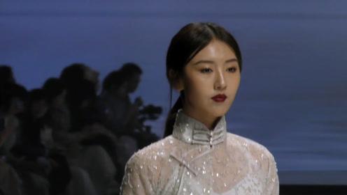 素雅的旗袍设计,尽显清雅动人,魅力全场!
