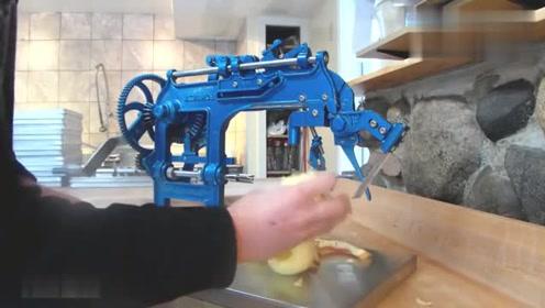这是哪位大神发明的机械?功能很巧妙实用,设计者很有才!