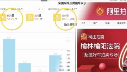 陕西榆林司法网拍3年超10亿元:曾拍卖过飞机