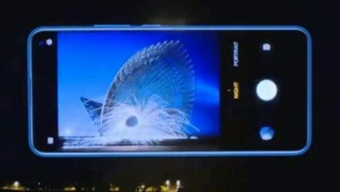 肉眼看一片黑暗,手机一拍出现高清美图,vivo V17是在变魔术吗?