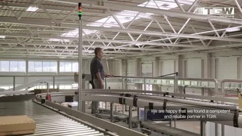 视频案例 | 奥地利电商企业高度自动化物流中心