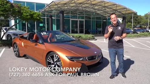 外媒体验 2019款 BMW i8 Roadster