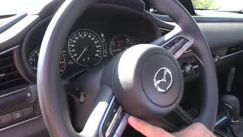 外媒介绍2020款 Mazda CX-30的组合仪表