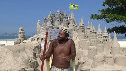 世界上最穷的国王,城堡仅仅3平米,生活开销全靠游客打赏!