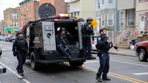 现场!美国新泽西州发生枪击 已致6人死亡包括1名警察