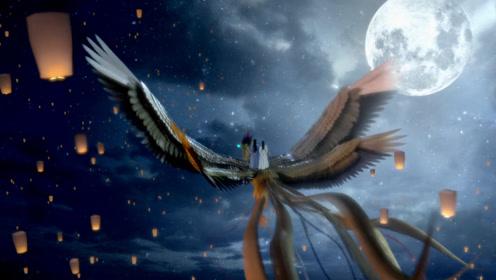 王子邀请绝世美女赏灯,坐骑竟是上古四翅九尾的凤凰,场面壮观