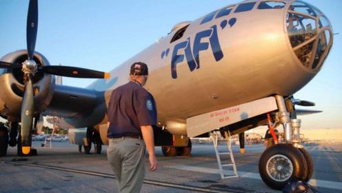 二战最强战略轰炸机,超级空中堡垒B-29有多强?看完别不信