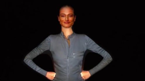 达人秀:女子身穿连体服,一上台就要求关灯,这是什么黑科技?