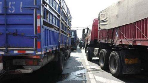 为何重型卡车动不动就十几个档位?内行人说出的原因,其实很简单