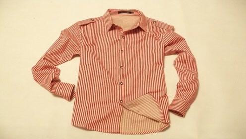 旧衬衫简单改造下,成品很多美女超喜欢,现在学到就是赚到
