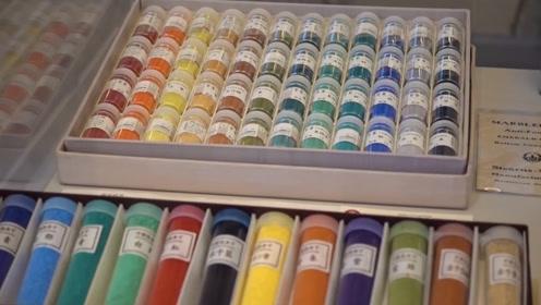 颜色还会灭绝?看哈弗大学的奇葩博物馆,收藏了2500种濒危颜色