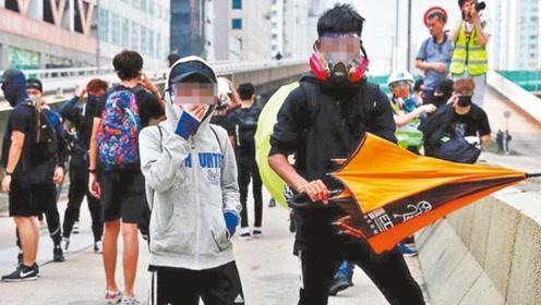 笑话!17岁暴徒豪掷50万妄图保释外出 香港法官毫不客气直接拒绝