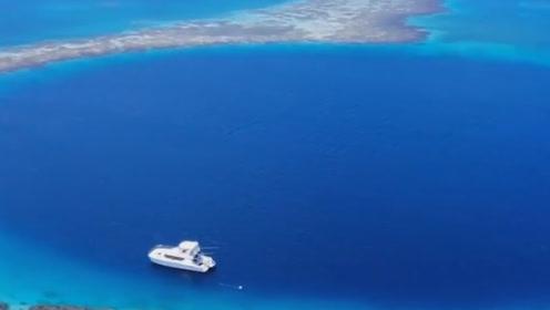 地球上最壮观的蓝洞景象,潜水者不敢下潜,专家揭秘原因