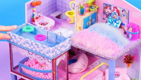 巧手微型制作:做漂亮房间