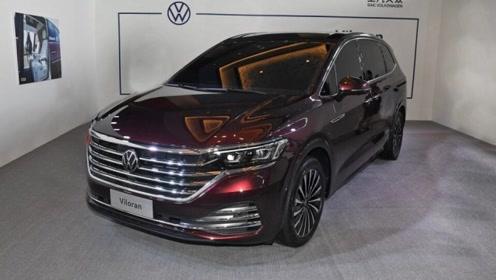 全新大众Viloran七座MPV亮相,车长超5.3米,让GL8瑟瑟发抖