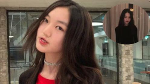 浓妆艳抹后的李嫣像换了个脸 气质不输妈妈王菲!