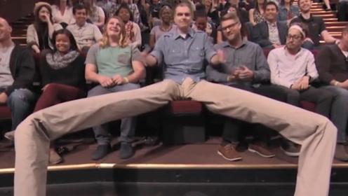 世界上腿最长的男人,拥有2米长的长腿,令无数男人羡慕!