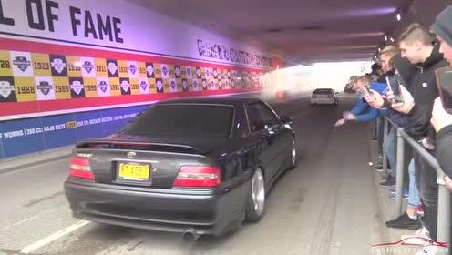 海外加速展示,主角是JDM改装汽车